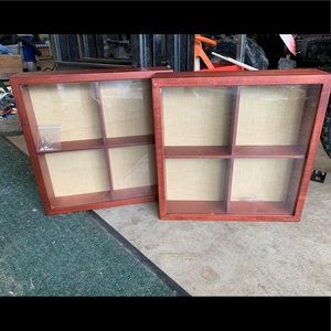 Set of 2 shadow boxes